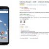 [Offre Alerte] Amazon a le Bleu 32Go Nexus 6 pour aussi peu que 584 $ (66 $ de rabais), 32Go et 64Go Blanc modèles d'actualisation Trop